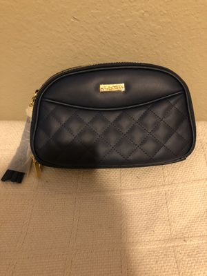 Navy Blue Joy and IMAN Lux Leather Crossbody Clutch for Sale in Arlington, TX