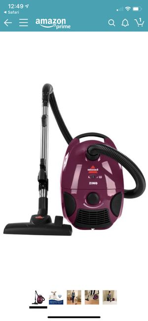 BISSELL Zing 2154A - Vacuum Cleaner - Canister - Bag - Grapevine Purple for Sale in Las Vegas, NV