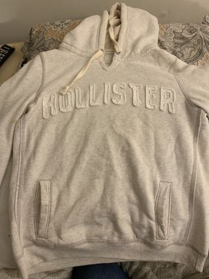 Large Off White Hollister Hoodie for Sale in Mocksville, NC