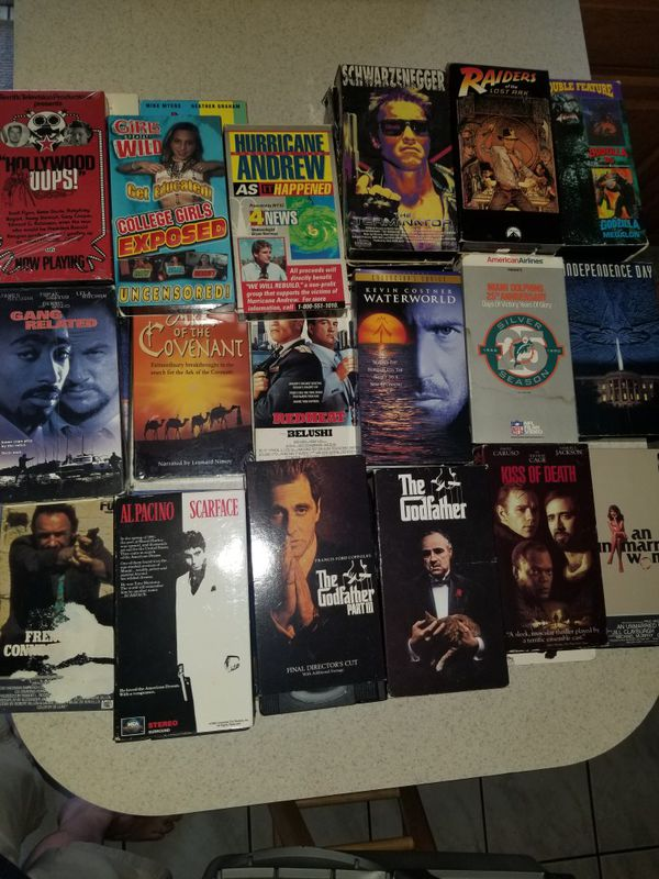 VHS old movies
