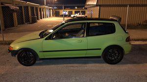 93 Eg Hatch B Series Vtec for Sale in Lakeland, FL