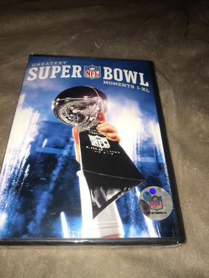 Christmas is coming Brand new dvd greatest Super Bowl moments Retails $27.99 Grab it for just $4!!! Ships for $3 more for Sale in Westford, MA