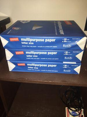 Printer paper for Sale in Blacksburg, VA