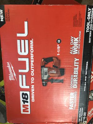 Milwaukee New rotary hammer (tool only) Nuevo for Sale in Los Angeles, CA