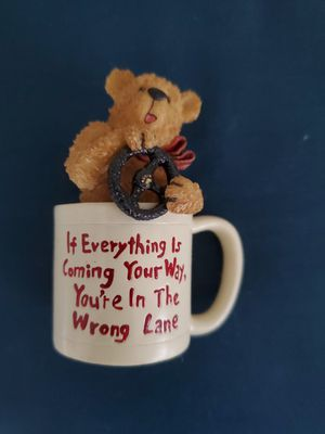Small bear in cup for Sale in West Palm Beach, FL