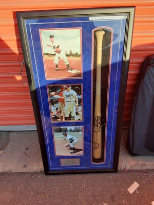 Pee Wee Reese Autographed Baseball Bat for Sale in Santa Cruz, CA