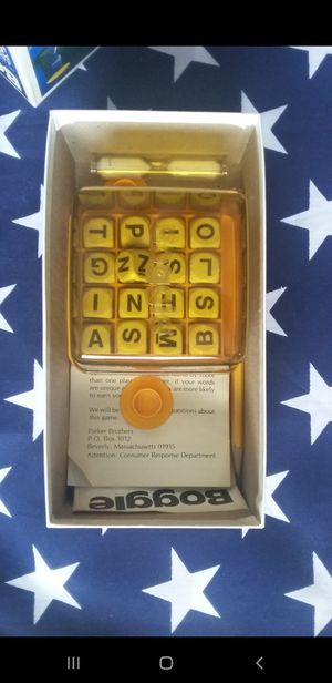 Boggle Parker Brothers Hidden Word Game for Sale in Houston, TX