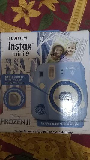 Fujifilm Instax mini 9 Frozen 2 edition for Sale in Fort Worth, TX