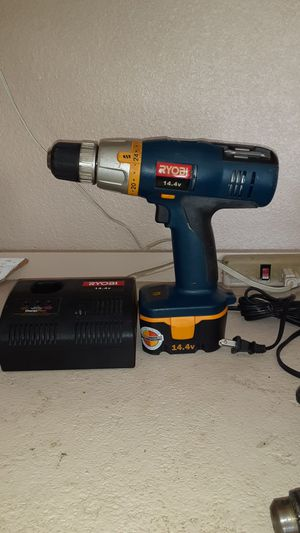 Ryobi drill and charger for Sale in Cedar Park, TX