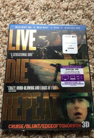 Live die repeat blu ray DVD for Sale in Denver, CO