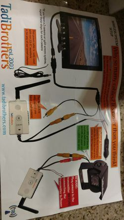 Tadibrothers back up camera for Sale in Modesto,  CA