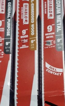 Sawzall Blades/ Step Drill Bit's for Sale in Vancouver,  WA