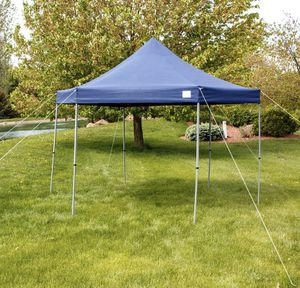 12' Easy Set Up Blue Canopy Gazebo Tent for Park or Patio Shade With Rolling Bag for Sale in Las Vegas, NV