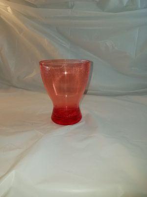 Pink plastic vase for Sale in Philadelphia, PA