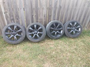 "Rims and Tires, Cadillac ATS 225/45 ZR 17"" for Sale in Rogers, AR"