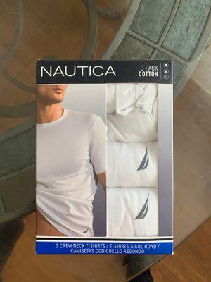 Nautical White T-shirt's 3 Pack SZ Medium for Sale in Richmond, VA