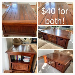 Coffee Table and Side Table for Sale in Manassas, VA