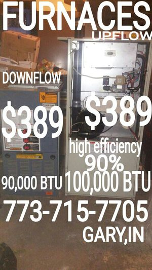 773-715-77O.FIVE GARY,IN HOT WATER HEATER ELECTRIC TANK WASHER DRYER STOVE downflow FURNACE FRIDGE refrigerator BOILER high efficiency 90% for Sale in Chicago, IL