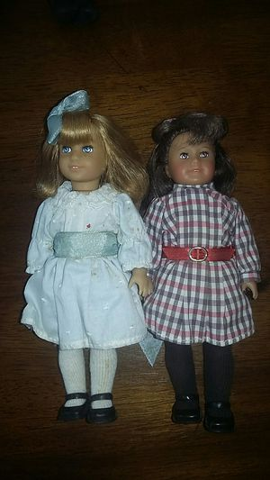 American Girl Doll 8 Inch Mini Samantha & Nellie Set for Sale in Costa Mesa, CA