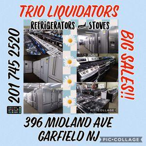 Refrigerators & Stoves SALES!! for Sale in Garfield, NJ