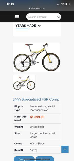Fsr comp specialized bike for Sale in North Las Vegas, NV