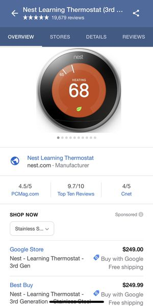 Nest thermostat unopened for Sale in Austin, TX