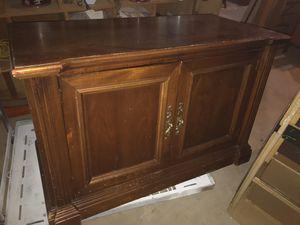 Beautiful solid wood tv Stand 45x30x22 for Sale in Fairburn, GA