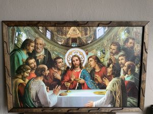 Jesus frame 3ft by 2ft for Sale in Los Angeles, CA