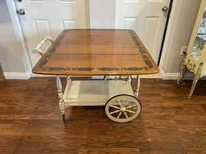 Vintage Drop Leaf Tea Cart for Sale in La Mesa, CA