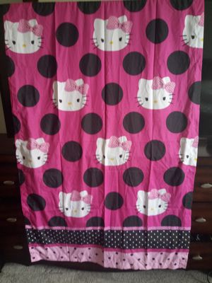 Hello kitty drapes for Sale in Ruskin, FL