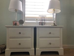 Two bedside tables for Sale in Ashburn, VA