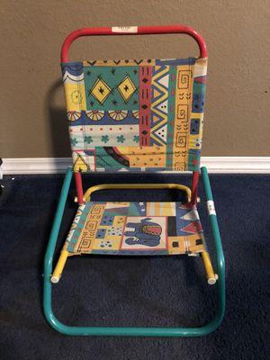 Vintage kids beach chair for Sale in San Bernardino, CA