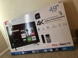 """49"""" Smart TV and wall mount for Sale in Scottsdale, AZ"""