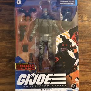 GI Joe Classified Series Special Missions Cobra Island Firefly Target Exclusive for Sale in Winnetka, IL