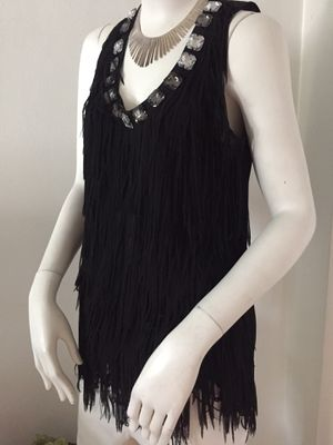 Adorable Scooped Fringed-Cache Sleeveless Top for Sale in Sunrise, FL