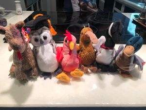 Birds and dragon beanie babies for Sale in Covington, WA