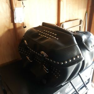 2013 Heritage Softail Studded Saddlebags for Sale in Anaheim, CA