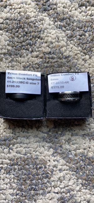 Triton Tungsten Male rings for Sale in Maumee, OH