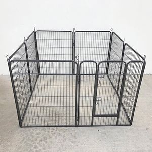 """New in box $110 Heavy Duty 40"""" Tall x 32"""" Wide x 8-Panel Pet Playpen Dog Crate Kennel Exercise Cage Fence Play Pen for Sale in El Monte, CA"""