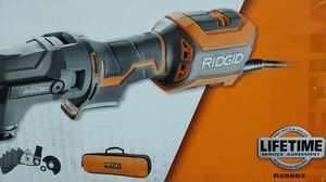 Ridgid 18 volt jobmax with jigsaw head for Sale in Temple, GA