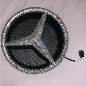 Swarovski Illuminated Mercedes Star for Sale in Tampa, FL