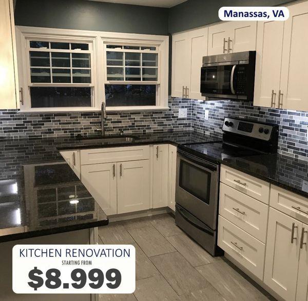 20% Discount on Kitchen Renovation