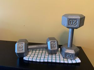Dumbbell 20 lbs for Sale in Austell, GA
