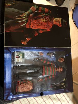 Nightmare on elm street action figure for Sale in Beltsville, MD