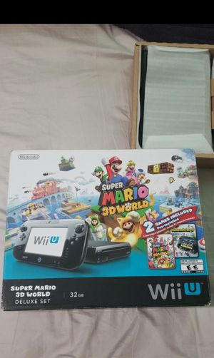 Wii U Super Mario 3D World Delux Set for Sale in Irwindale, CA