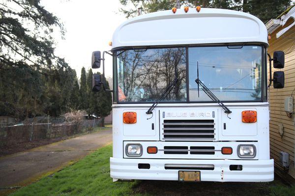 Bluebird Bus Skoolie RV Camper LOW MILES! Excellent ...
