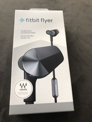 Fitbit Flyer Wireless Headphones Nightfall Blue BRAND NEW FACTORY SEALED for Sale in East Brunswick, NJ