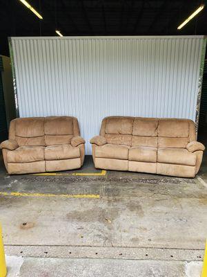 Recliner Sofa Set for Sale in Powersville, GA