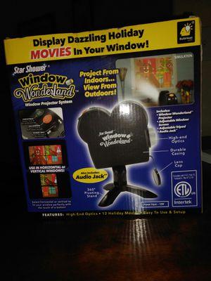 Star Shower Window WonderLand Window Projector System for Sale in La Porte, TX