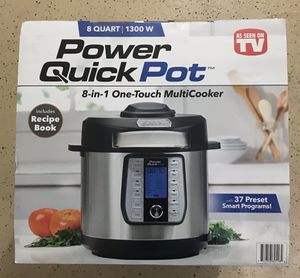 Power Quick pot 8 in 1 multi cooker 8qt-New in Box for Sale in Simi Valley, CA